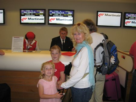 Peter Ingrid Back In Holland Blog Archive Bye Bye Opa En Oma Balos