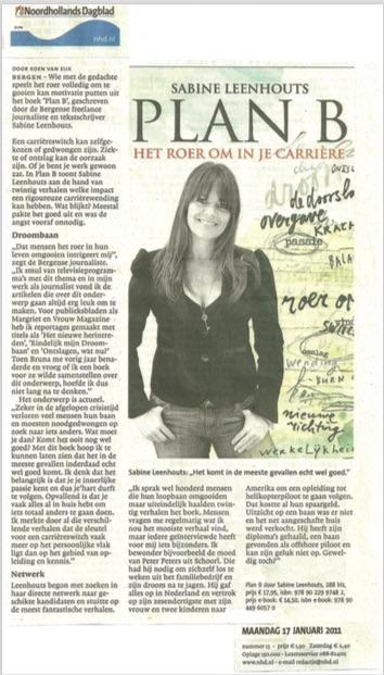 Noord-Hollands dagblad Plan B