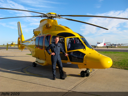 NHV EC155 at Norwich UK