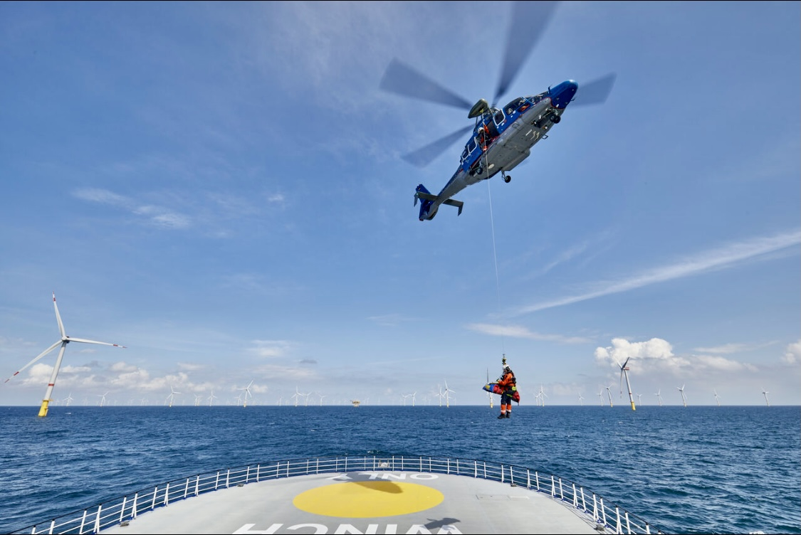 Hoisting for Northern Helicopter, 2021